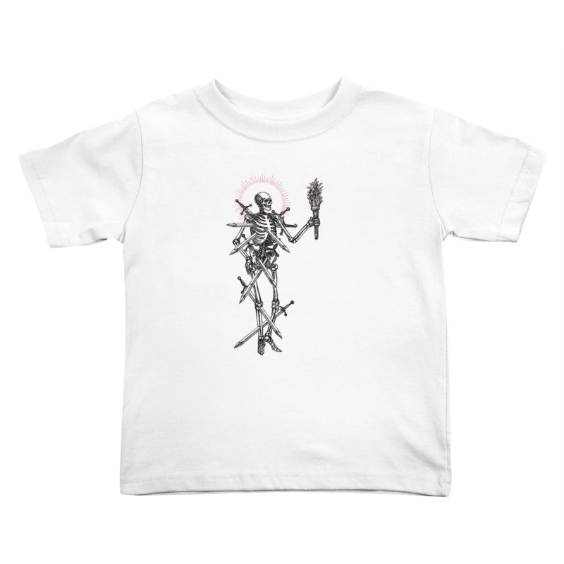 Seven of Swords Kids Toddler T-Shirt by Apparel by Micah Ulrich