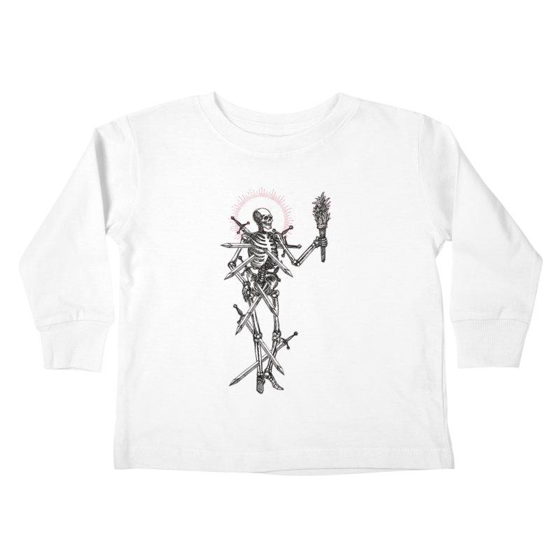 Seven of Swords Kids Toddler Longsleeve T-Shirt by Apparel by Micah Ulrich