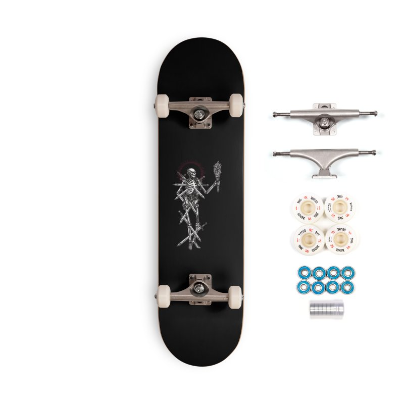 Seven of Swords Accessories Complete - Premium Skateboard by Apparel by Micah Ulrich