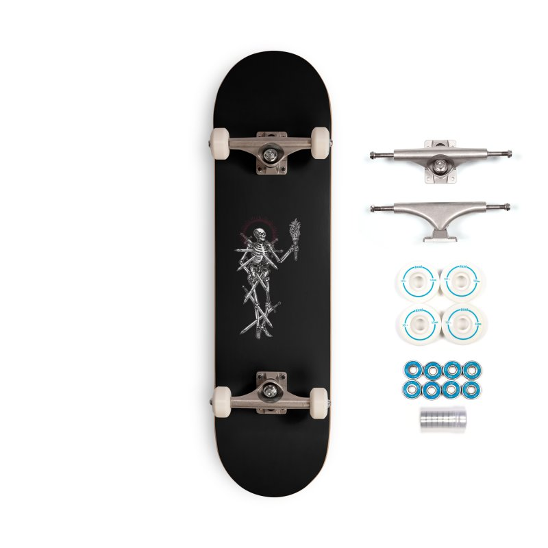 Seven of Swords Accessories Complete - Basic Skateboard by Apparel by Micah Ulrich