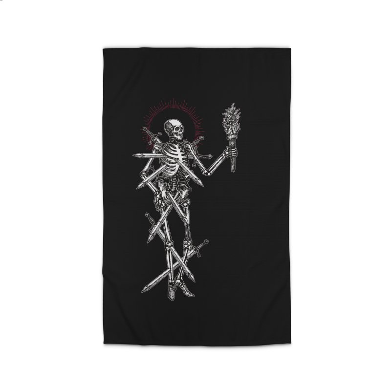 Seven of Swords Home Rug by Apparel by Micah Ulrich