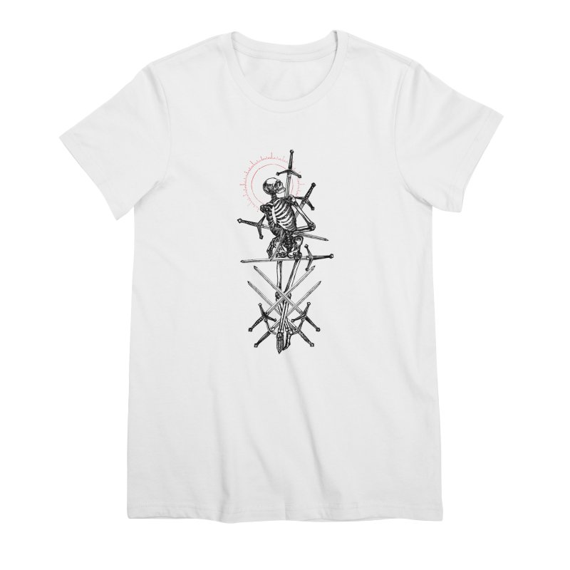 Eight of Swords Women's Premium T-Shirt by Apparel by Micah Ulrich