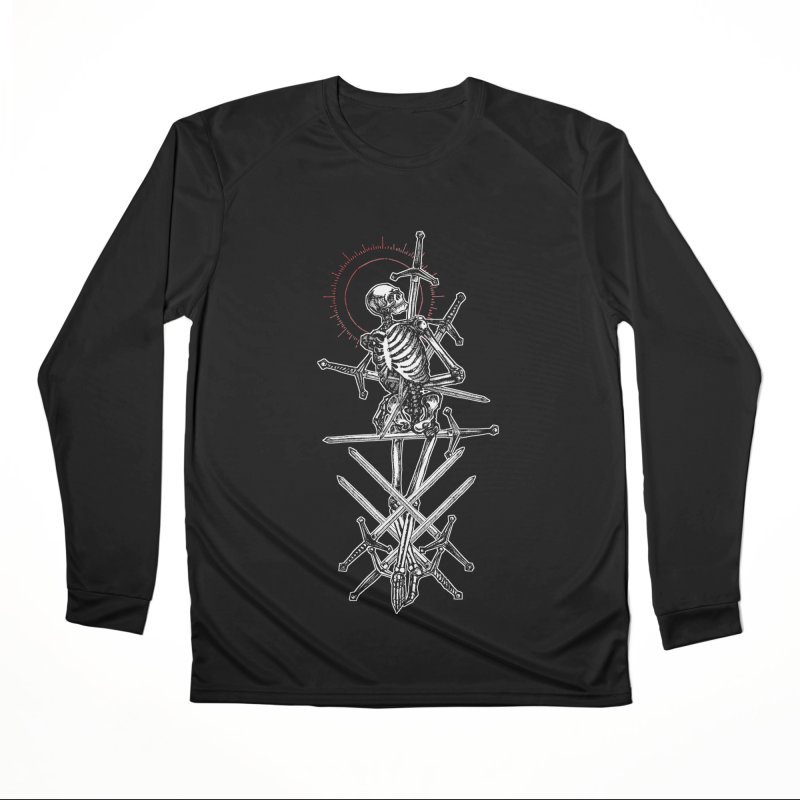 Eight of Swords Men's Performance Longsleeve T-Shirt by Apparel by Micah Ulrich