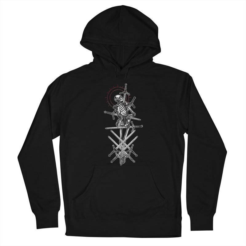 Eight of Swords Men's French Terry Pullover Hoody by Apparel by Micah Ulrich