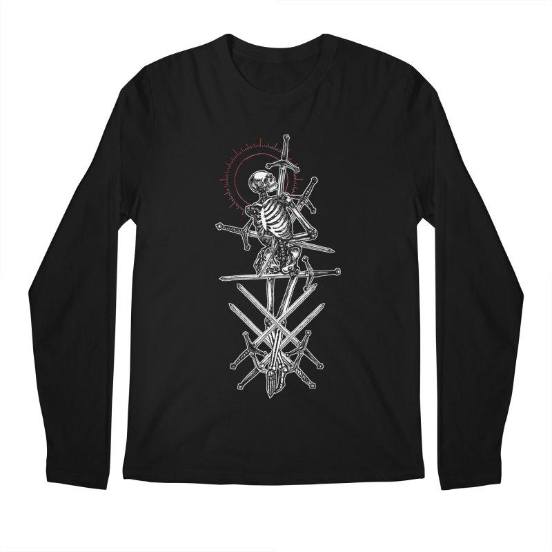 Eight of Swords Men's Regular Longsleeve T-Shirt by Apparel by Micah Ulrich