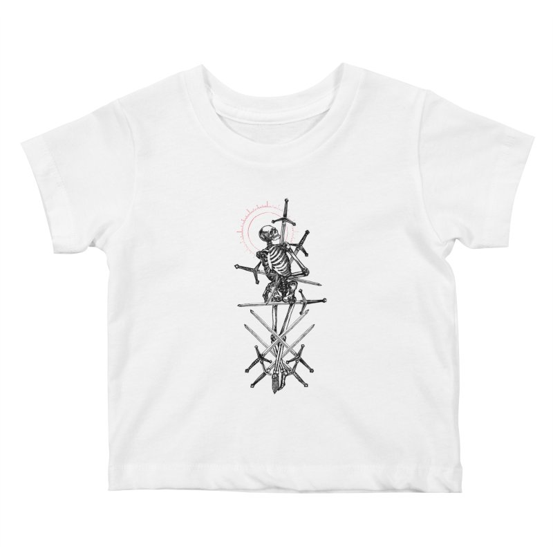 Eight of Swords Kids Baby T-Shirt by Apparel by Micah Ulrich