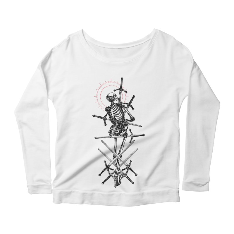 Eight of Swords Women's Scoop Neck Longsleeve T-Shirt by Apparel by Micah Ulrich