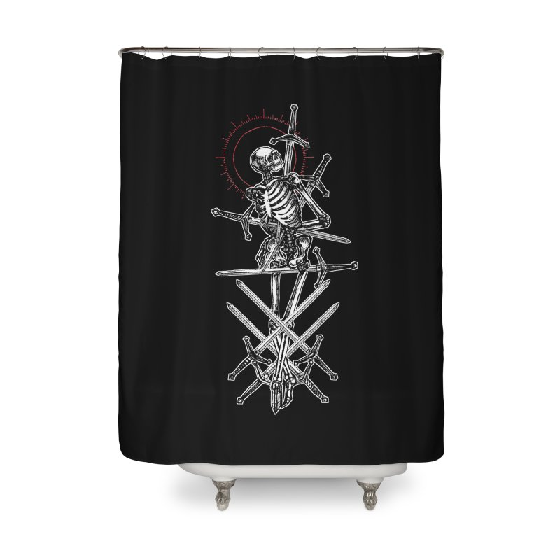 Eight of Swords Home Shower Curtain by Apparel by Micah Ulrich