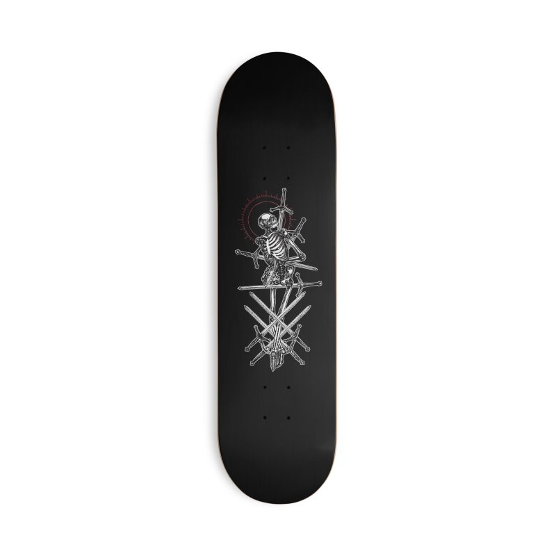 Eight of Swords Accessories Deck Only Skateboard by Apparel by Micah Ulrich