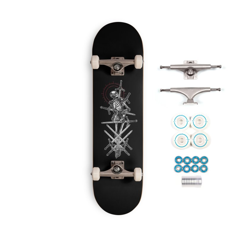 Eight of Swords Accessories Complete - Basic Skateboard by Apparel by Micah Ulrich