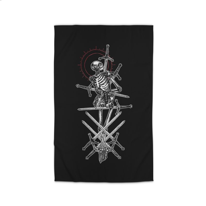 Eight of Swords Home Rug by Apparel by Micah Ulrich