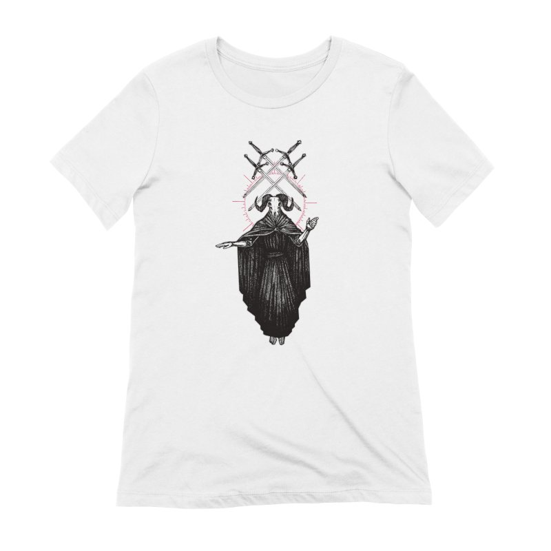 Four of Swords! Women's Extra Soft T-Shirt by Apparel by Micah Ulrich