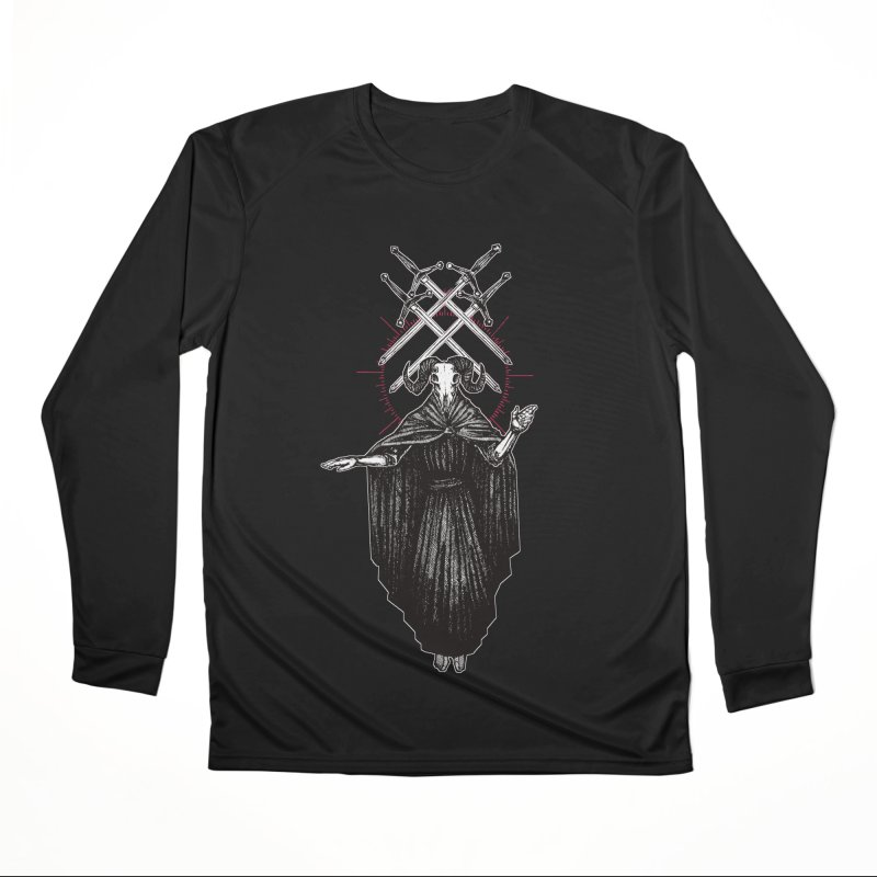 Four of Swords! Men's Performance Longsleeve T-Shirt by Apparel by Micah Ulrich