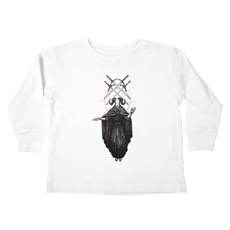 Four of Swords! Kids Toddler Longsleeve T-Shirt by Apparel by Micah Ulrich