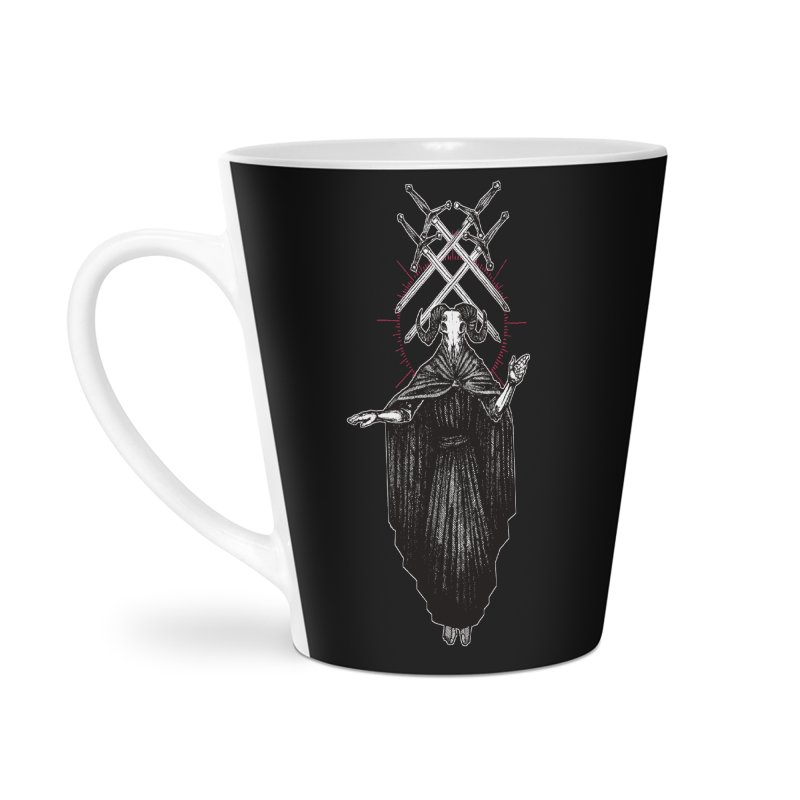 Four of Swords! Accessories Latte Mug by Apparel by Micah Ulrich