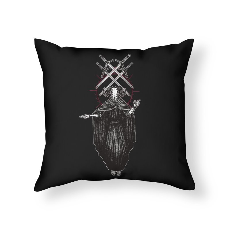 Four of Swords! Home Throw Pillow by Apparel by Micah Ulrich
