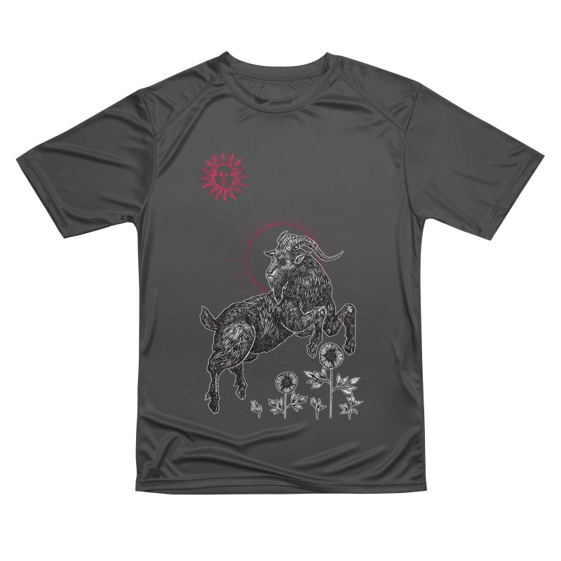 The Black Goat Women's Performance Unisex T-Shirt by Apparel by Micah Ulrich