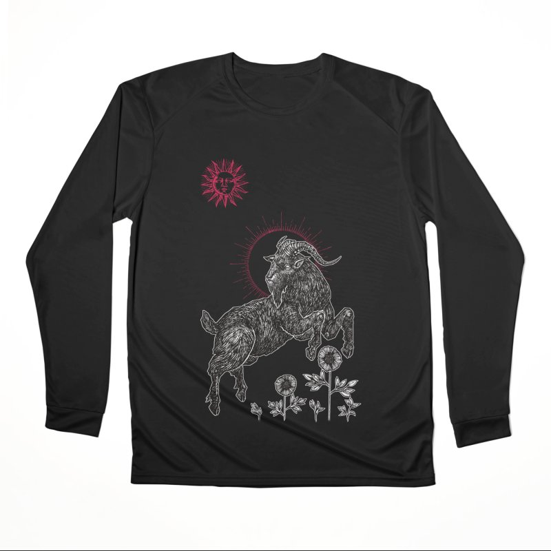The Black Goat Men's Performance Longsleeve T-Shirt by Apparel by Micah Ulrich