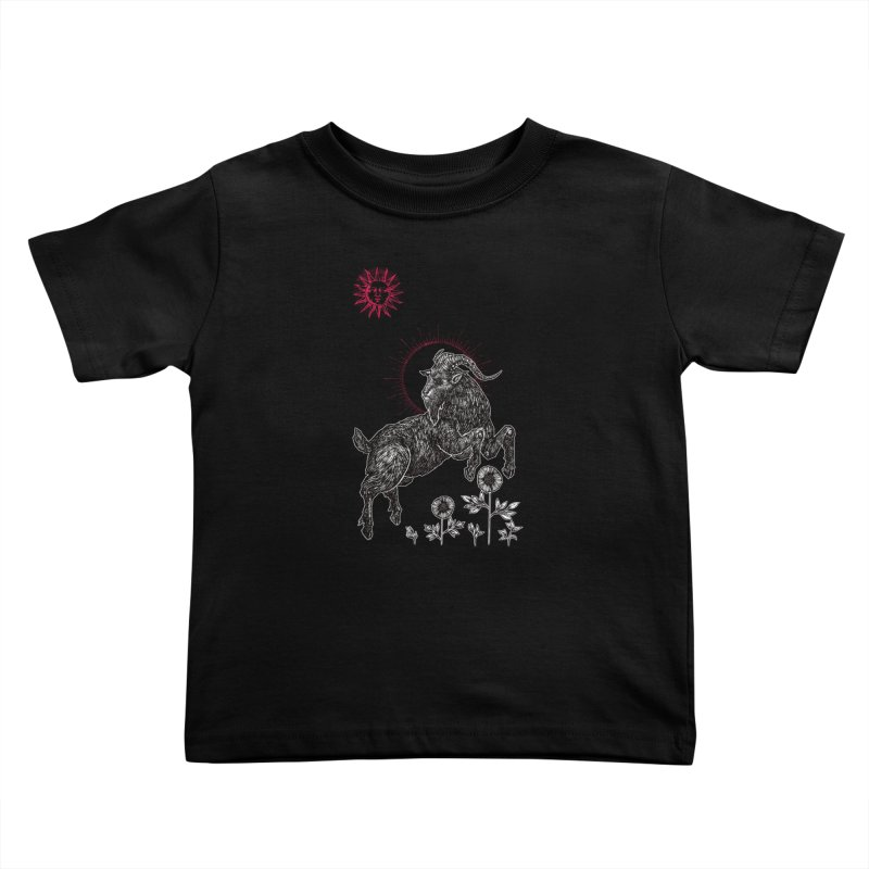 The Black Goat Kids Toddler T-Shirt by Apparel by Micah Ulrich