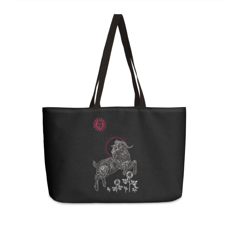 The Black Goat Accessories Weekender Bag Bag by Apparel by Micah Ulrich