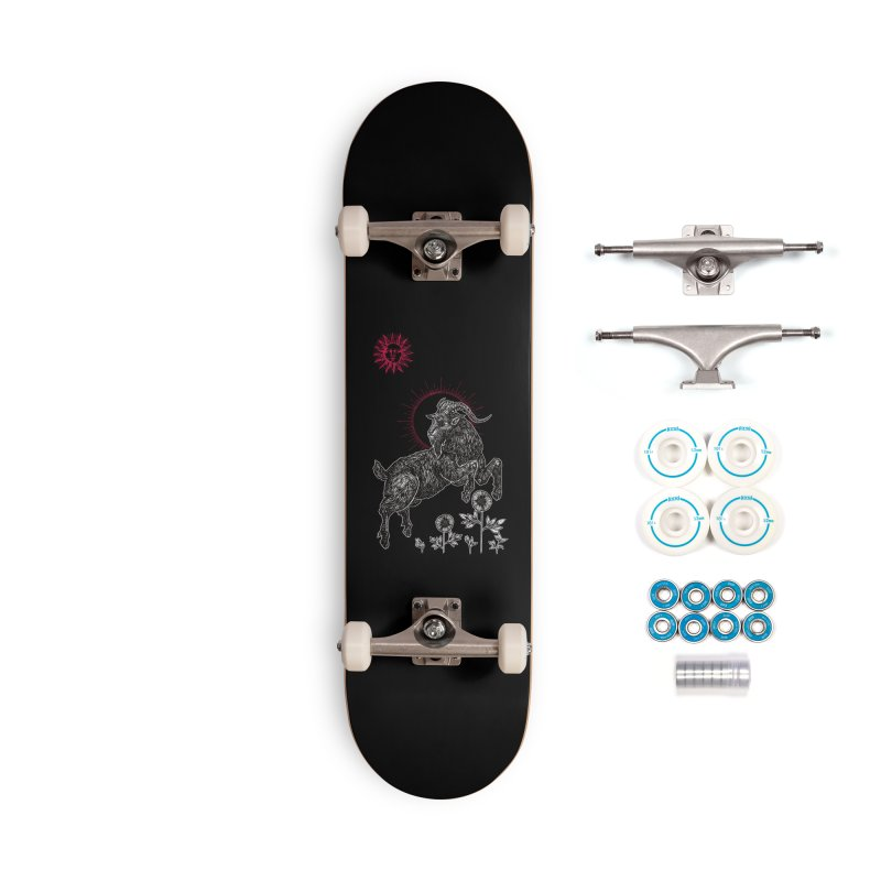 The Black Goat Accessories Complete - Basic Skateboard by Apparel by Micah Ulrich