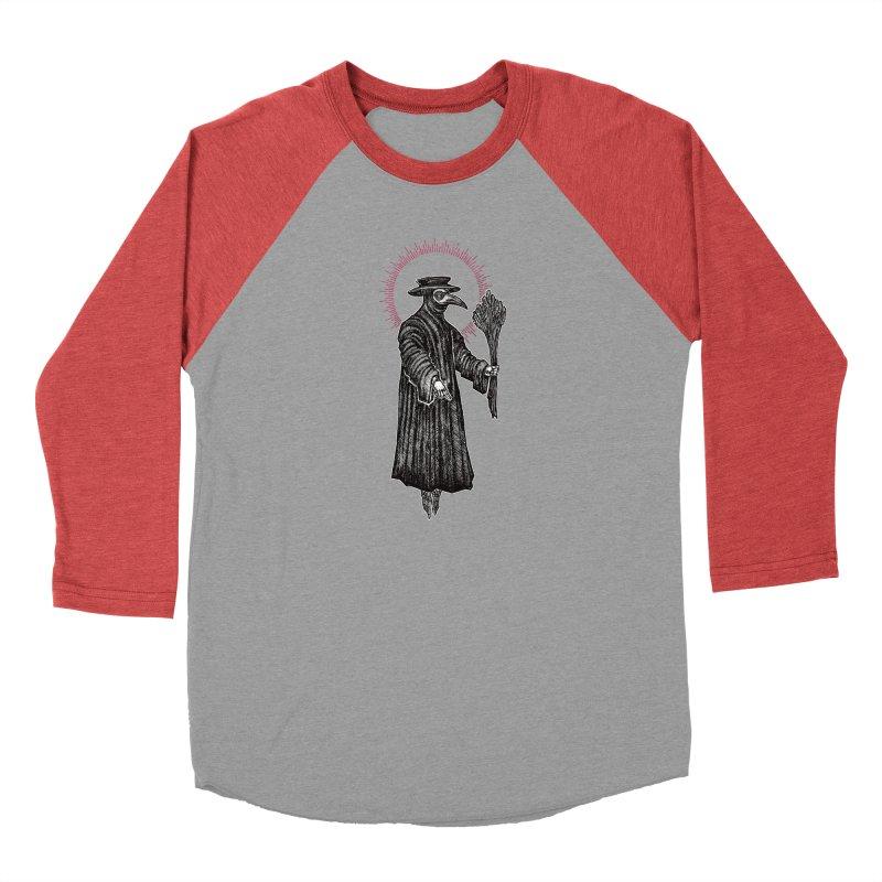The Healer Women's Baseball Triblend Longsleeve T-Shirt by Apparel by Micah Ulrich