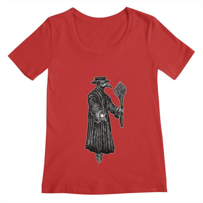 The Healer Women's Regular Scoop Neck by Apparel by Micah Ulrich