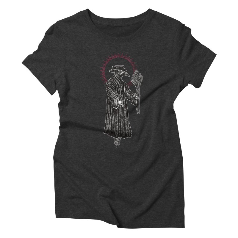 The Healer Women's Triblend T-Shirt by Apparel by Micah Ulrich