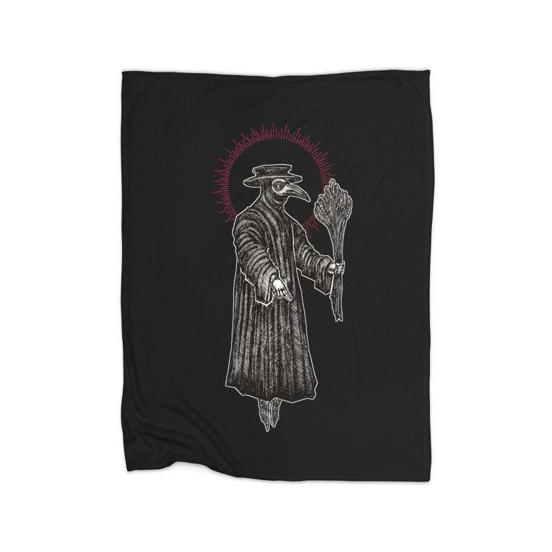 The Healer Home Fleece Blanket Blanket by Apparel by Micah Ulrich