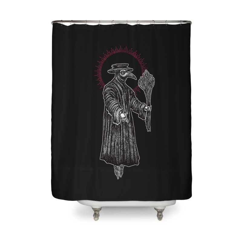 The Healer Home Shower Curtain by Apparel by Micah Ulrich