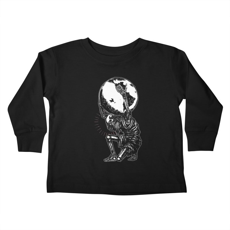 Holdin' It Together! Kids Toddler Longsleeve T-Shirt by Apparel by Micah Ulrich