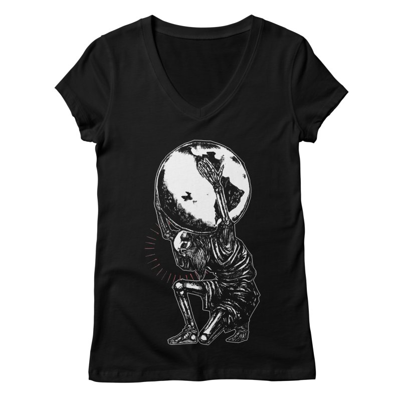 Holdin' It Together! Women's Regular V-Neck by Apparel by Micah Ulrich