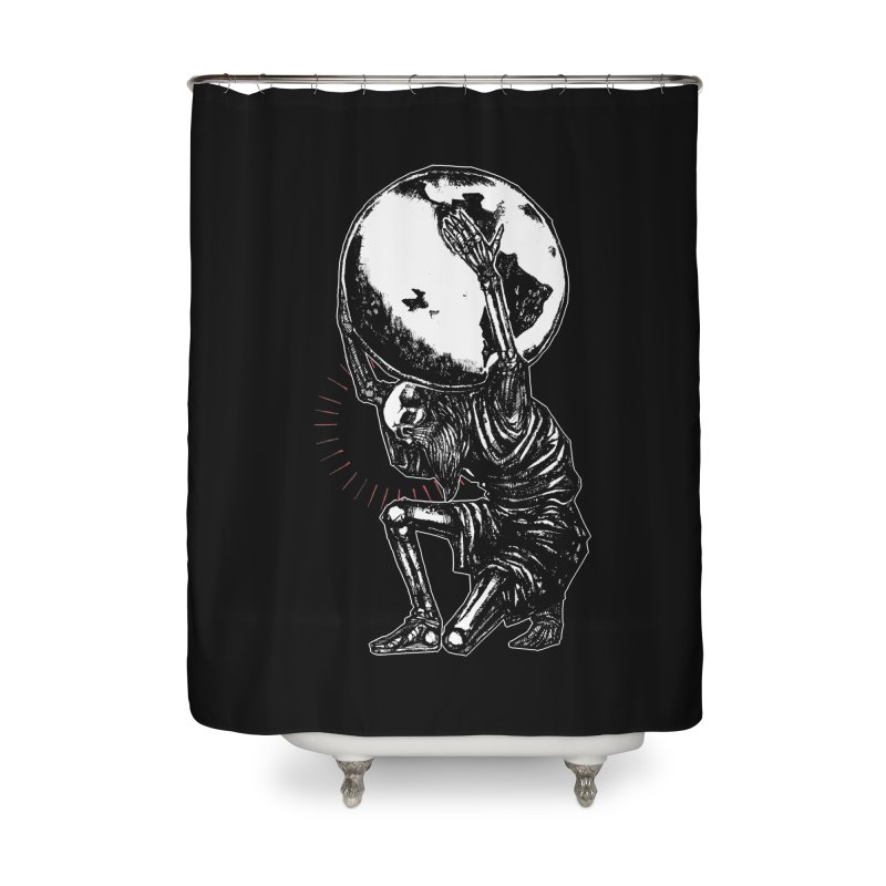 Holdin' It Together! Home Shower Curtain by Apparel by Micah Ulrich