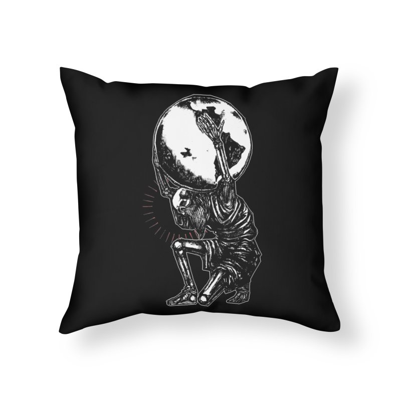 Holdin' It Together! Home Throw Pillow by Apparel by Micah Ulrich