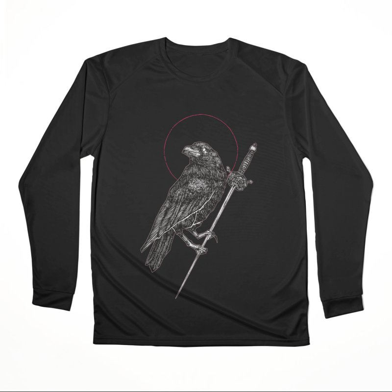 The Raven Men's Performance Longsleeve T-Shirt by Apparel by Micah Ulrich