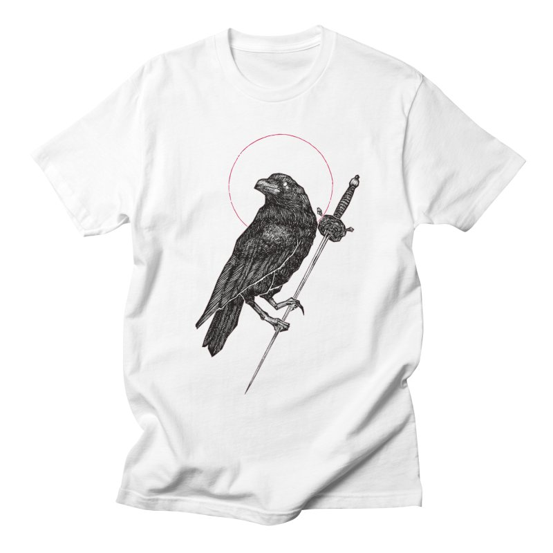 The Raven Men's T-Shirt by Apparel by Micah Ulrich