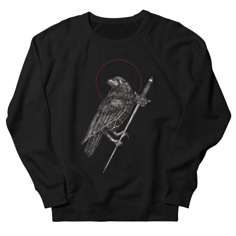 The Raven Men's French Terry Sweatshirt by Apparel by Micah Ulrich