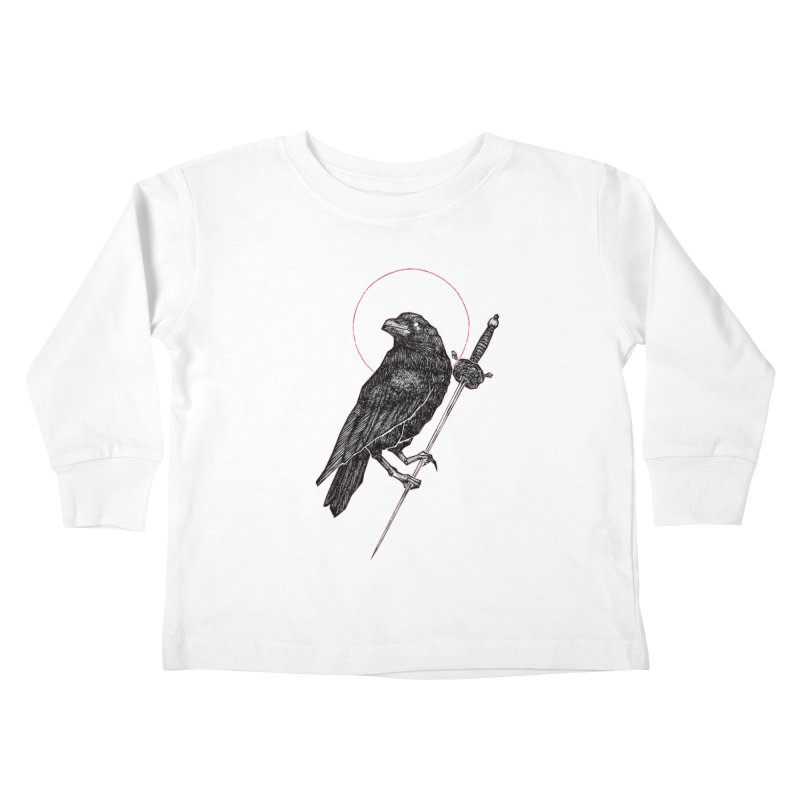 The Raven Kids Toddler Longsleeve T-Shirt by Apparel by Micah Ulrich