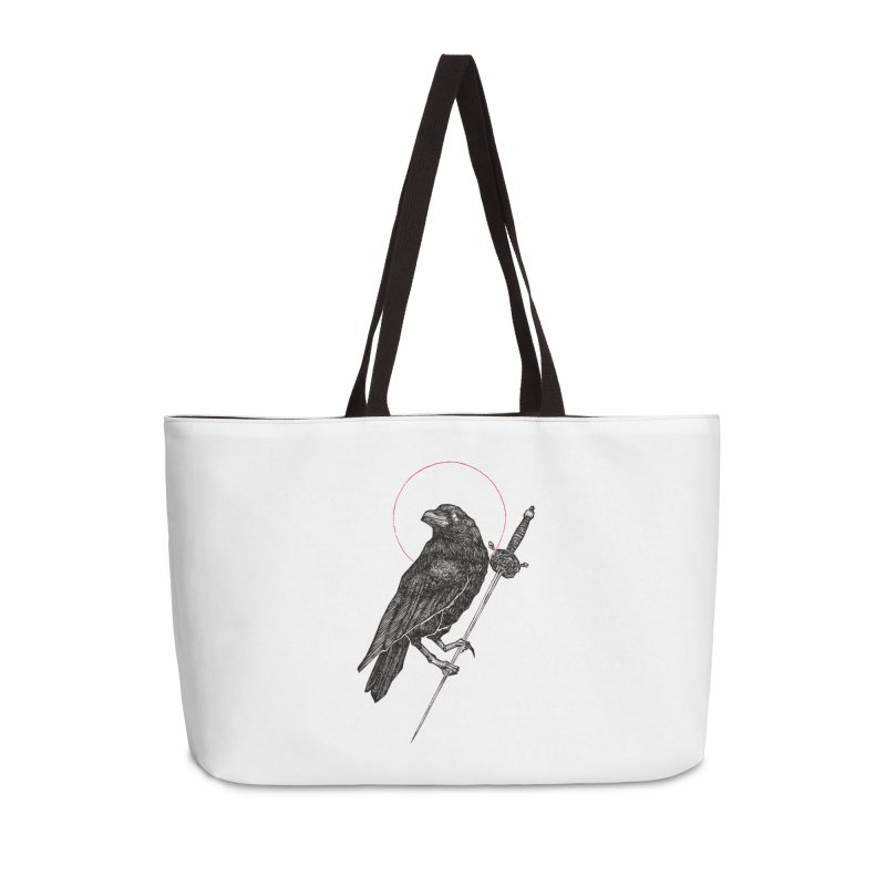 The Raven Accessories Weekender Bag Bag by Apparel by Micah Ulrich