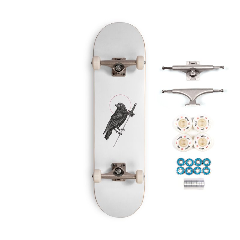 The Raven Accessories Complete - Premium Skateboard by Apparel by Micah Ulrich