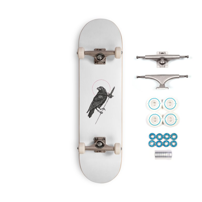 The Raven Accessories Complete - Basic Skateboard by Apparel by Micah Ulrich