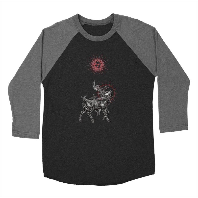 Sacrifice Women's Baseball Triblend Longsleeve T-Shirt by Apparel by Micah Ulrich