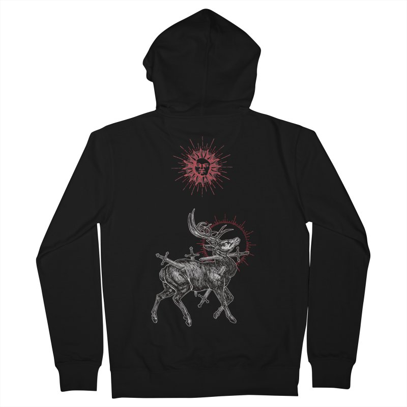 Sacrifice Women's French Terry Zip-Up Hoody by Apparel by Micah Ulrich