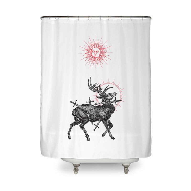 Sacrifice Home Shower Curtain by Apparel by Micah Ulrich