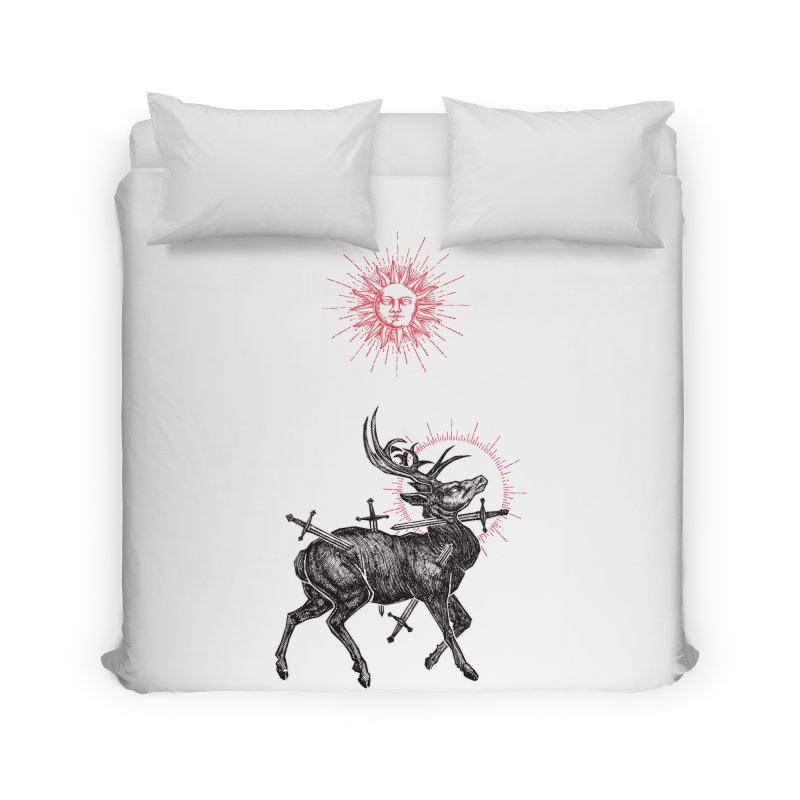 Sacrifice Home Duvet by Apparel by Micah Ulrich
