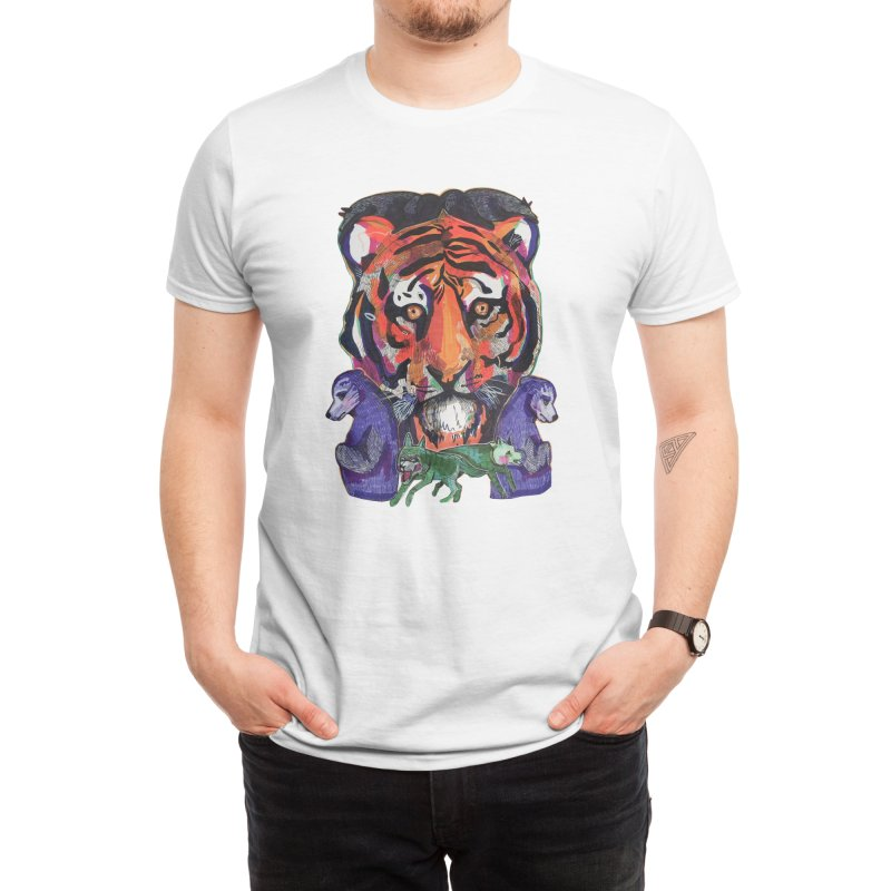 Tribe Men's T-Shirt by Mica Still / Collection of Giggles