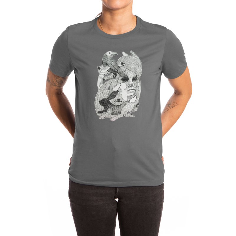 Hiding in Plain Sight Women's T-Shirt by Mica Still / Collection of Giggles
