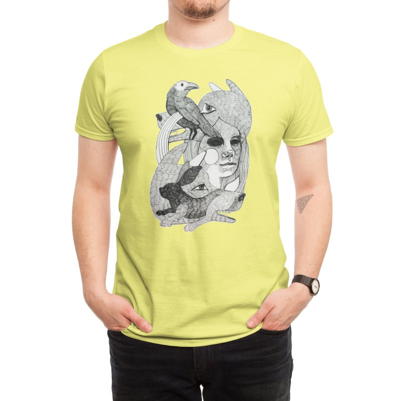 Hiding in Plain Sight Men's T-Shirt by Mica Still / Collection of Giggles