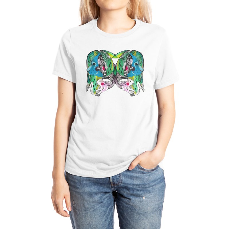 Hiding Free Women's T-Shirt by Mica Still / Collection of Giggles