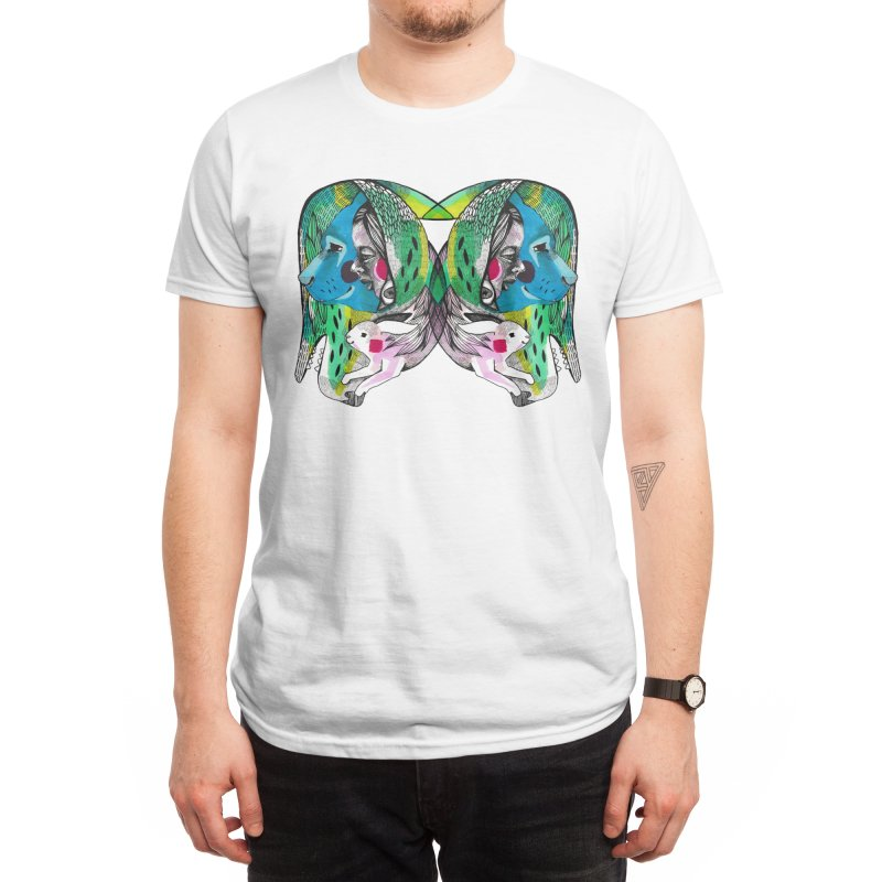Hiding Free Men's T-Shirt by Mica Still / Collection of Giggles
